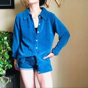 「Denim&Co」Vintage Blue Button Up